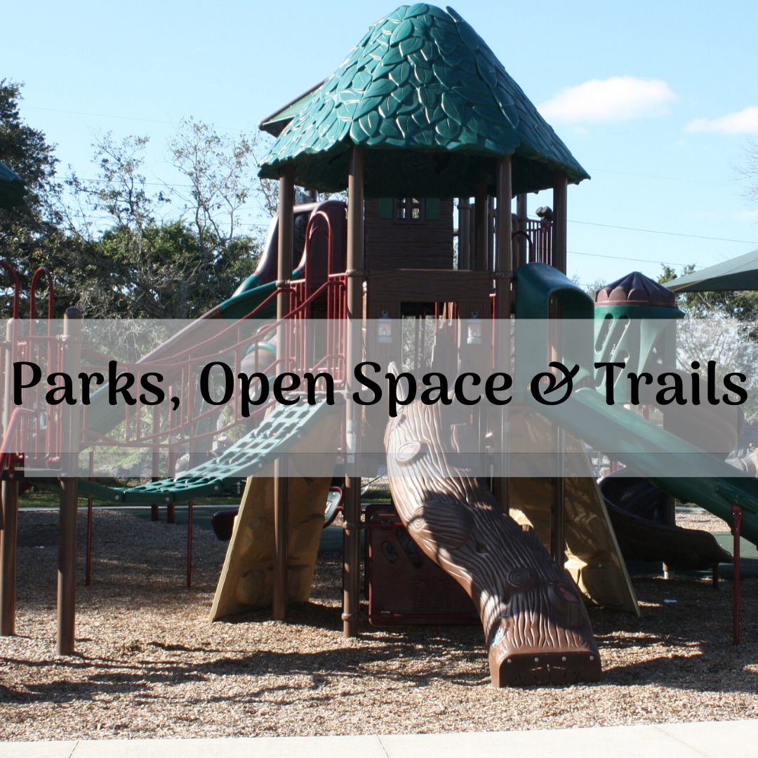 Parks, Open Spaces and Trails Button