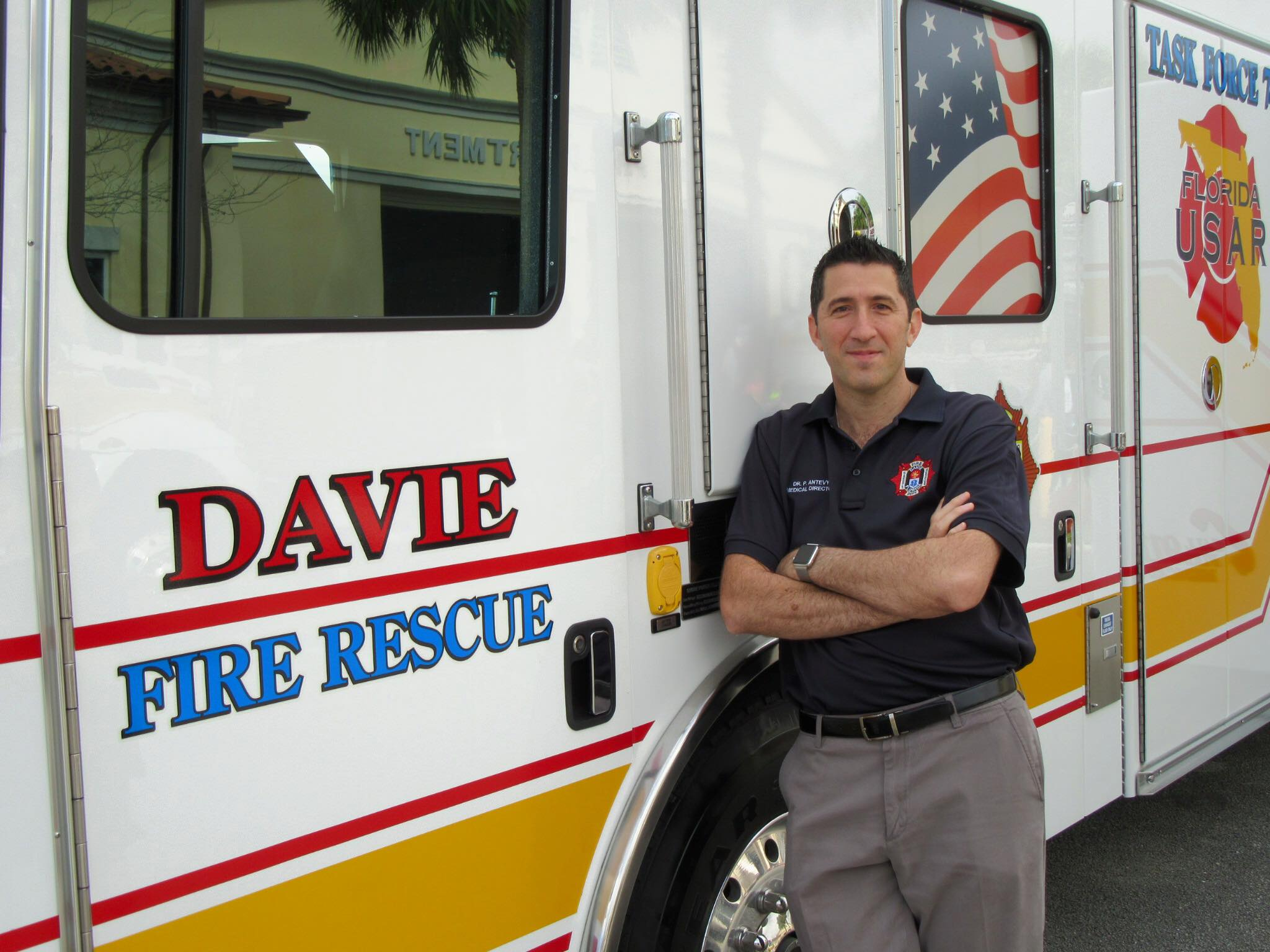Dr. Antevy EMS Medical Director of the Year
